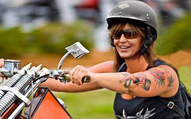 Image result for sarah palin bikers